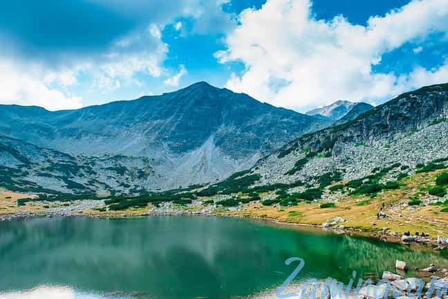 Едно от езерата по време на прехода до Мусала