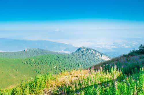 Гледка от прехода към връх Мусала